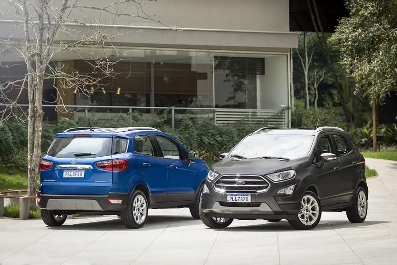 25º- Ford EcoSport: 10.333 unidades - Foto: Divulgação - Foto: Divulgação/Garagem 360/ND