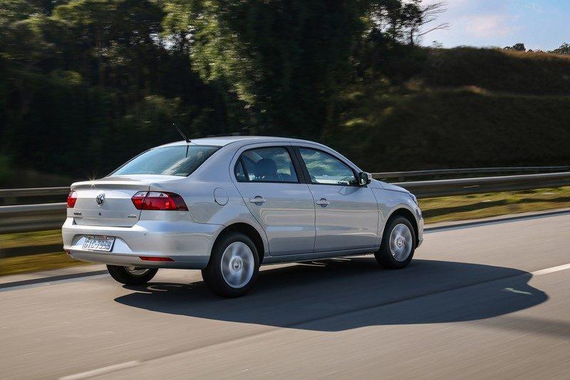 26º- Volkswagen Voyage: 9.636 unidades - Foto: Divulgação - Foto: Divulgação/Garagem 360/ND