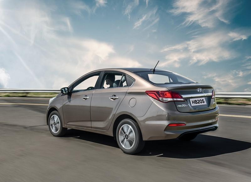 27º- Hyundai HB20S: 9.487 unidades - Foto: Divulgação - Foto: Divulgação/Garagem 360/ND