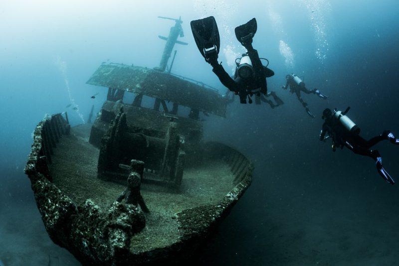 Veja 40 fotos de navios e destroços no fundo do mar - - /Rota de Férias/ND