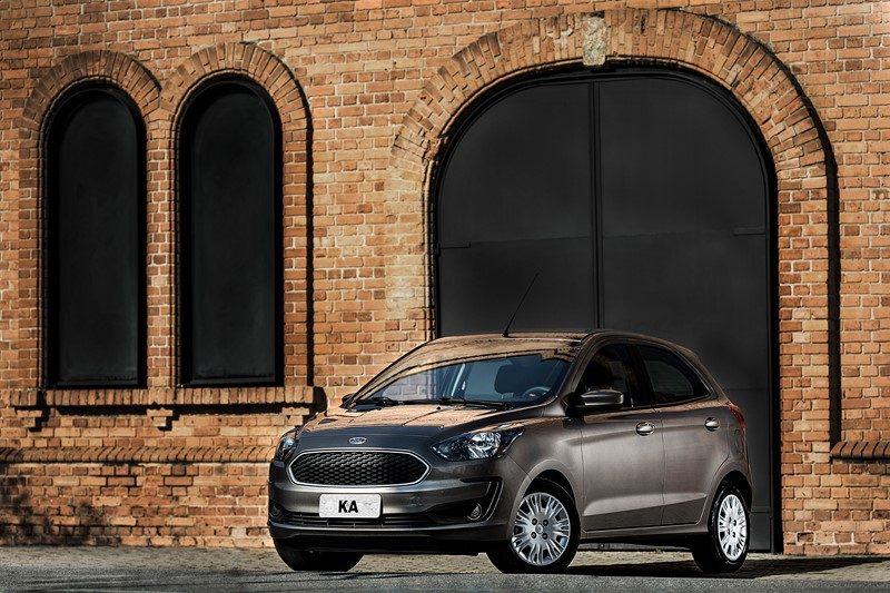 2º- Ford Ka: 47.401 unidades - Foto: Divulgação - Foto: Divulgação /Garagem 360/ND