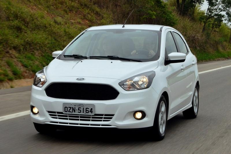 Ford Ka: 30 psi para até três pessoas e 35 psi para carga total - Foto: Divulgação - Foto: Divulgação/Garagem 360/ND