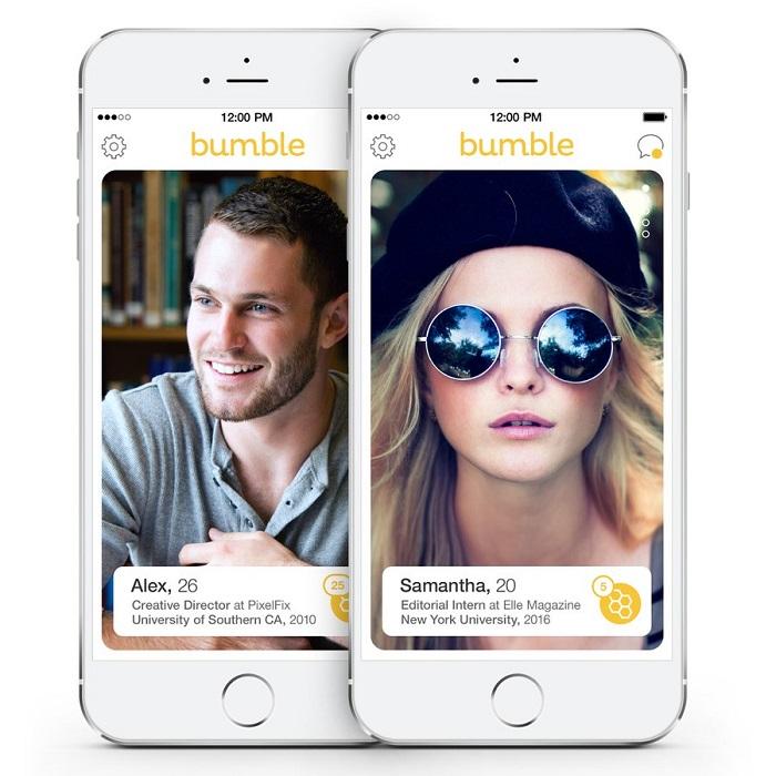Bumble – Bem parecido com o Tinder, o aplicativo conecta pessoas que estão próximas e é necessário que os dois lados estejam interessados para que um vínculo seja estabelecido. O pulo do gato é que ele usa a tática do Snapchat de autodestruição, no qual a conexão expira se não ocorrer um contato em apenas 24 horas. E o mais curioso: são as mulheres que devem dar o primeiro passo. Está disponível para Android (https://goo.gl/Z21aCs) e iOS (https://goo.gl/B5C86j). - Crédito: Divulgação/33Giga/ND