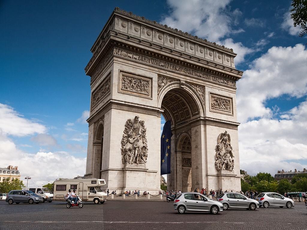 Arco do Triunfo, Paris - ian kelsall from Pixabay - ian kelsall from Pixabay /Rota de Férias/ND
