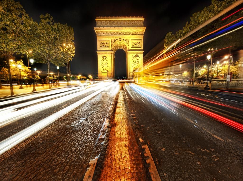 Arco do Triunfo, Paris - Trey Ratcliff on Visualhunt / CC BY-NC-SA - Trey Ratcliff on Visualhunt / CC BY-NC-SA/Rota de Férias/ND