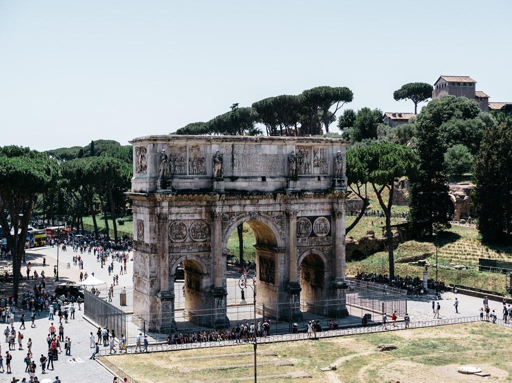 Arco de Septimus Severus, Roma - Leo Nordén on Unsplash - Leo Nordén on Unsplash/Rota de Férias/ND