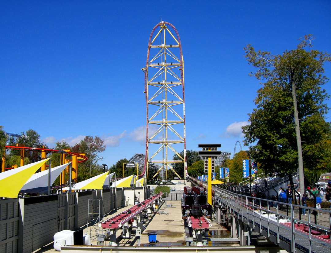 Top Thrill Dragster - Cedar Point, Estados Unidos - Double B Photography on VisualHunt / CC BY-NC-ND - Double B Photography on VisualHunt / CC BY-NC-ND/Rota de Férias/ND