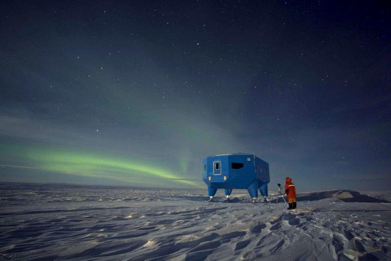 Apesar de ainda não ser um destino tão acessível, a Antártida também entra para a lista de países em que dá para ver a aurora. Neste caso, porém, é a austral - Podknox via VisualHunt.com / CC BY - Podknox via VisualHunt.com / CC BY/Rota de Férias/ND