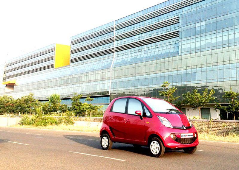 Tata GenX Nano - 3,16 m de comprimento, 1,75 m e 1,65 m de altura - Foto: Reprodução - Foto: Reprodução/Garagem 360/ND