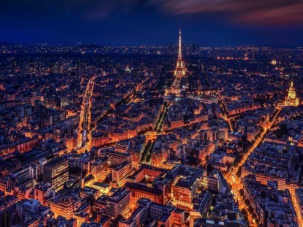 Paris, França - Crédito Livre/ Pixabay - Crédito Livre/ Pixabay/Rota de Férias/ND