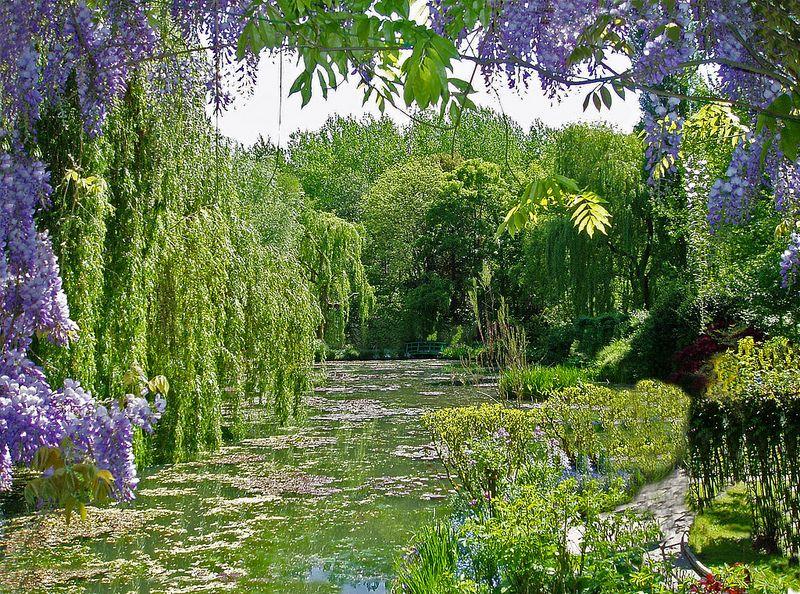 O jardim criado pelo artista Claude Monet é uma das atrações de Giverny, na França. Algumas obras do pintor impressionista foram inspiradas nos cenários do local - JJG53 via Visual Hunt / CC BY-NC-ND - JJG53 via Visual Hunt / CC BY-NC-ND/Rota de Férias/ND