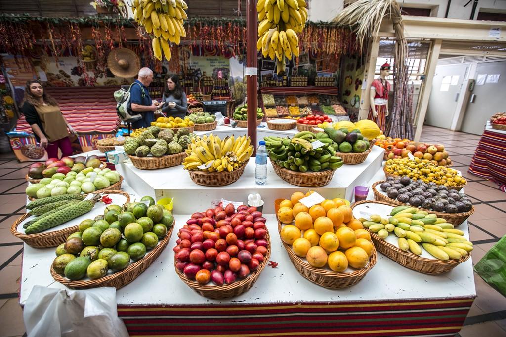 Mercado dos Lavradores, em Funchal - GregSnell/Divulgação - GregSnell/Divulgação/Rota de Férias/ND