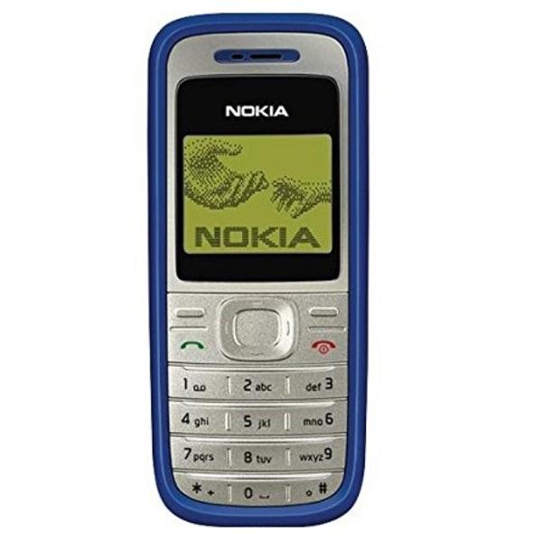 6. Nokia 1200 – Lançado em 2007, vendeu mais de 150 milhões de unidades - Crédito: Divulgação/33Giga/ND
