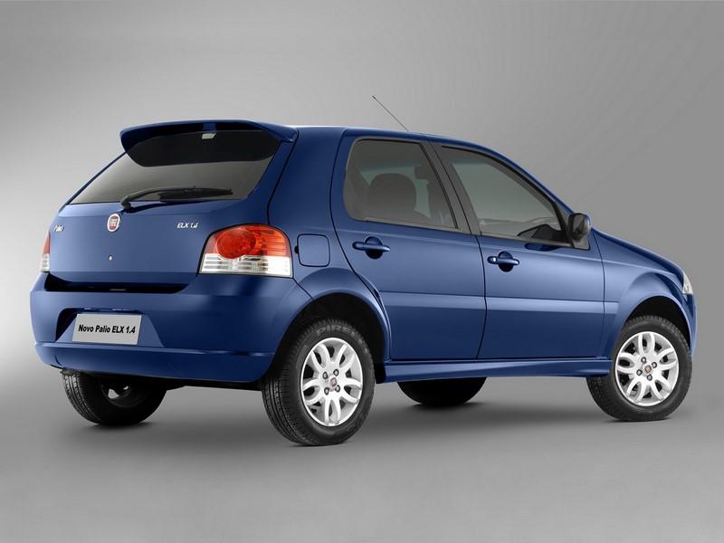 66- Fiat Palio ELX (testado em agosto de 2010 - sem airbags): uma estrela para adultos e duas estrelas para crianças - Foto: Divulgação - Foto: Divulgação/Garagem 360/ND
