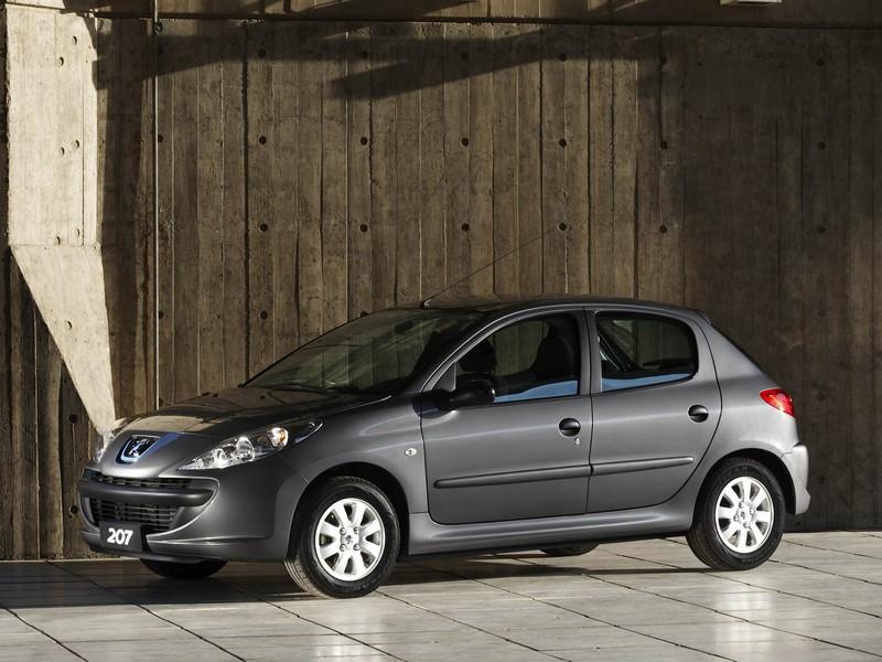 69- Peugeot 207 (testado em agosto de 2010 - sem airbags): uma estrela para adultos e duas estrelas para crianças - Foto: Divulgação - Foto: Divulgação/Garagem 360/ND
