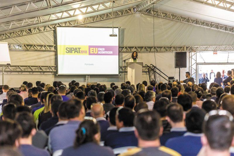 Palestra de abertura SIPAT 2018 – Divulgação/Acervo Portobello