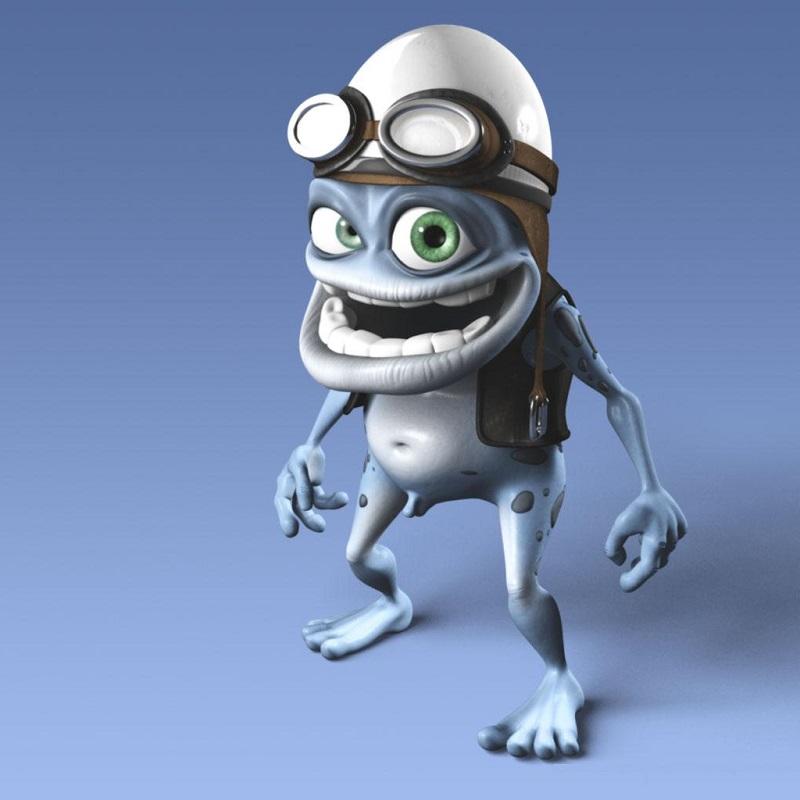 Crazy Frog – É um personagem animado por computador criado em 2003. Curiosamente, os icônicos ruídos de motores foram gravados em 1997 por um sueco. Daniel Malmedahl captou o som sozinho e postou na internet. A pérola foi descoberta por um canal de TV e até foi adotado pela Fórmula 1. Depois, caiu no limbo, até ser resgatada por Erik Wernquist, que desenhou o popular sapo. - Crédito: f_sirbu on VisualHunt.com / CC BY/33Giga/ND