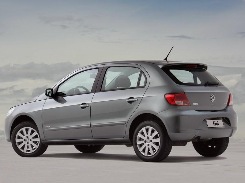 71- Volkswagen Gol Trend 1.6 (testado em agosto de 2010 - sem airbags): uma estrela para adultos e duas estrelas para crianças - Foto: Divulgação - Foto: Divulgação/Garagem 360/ND