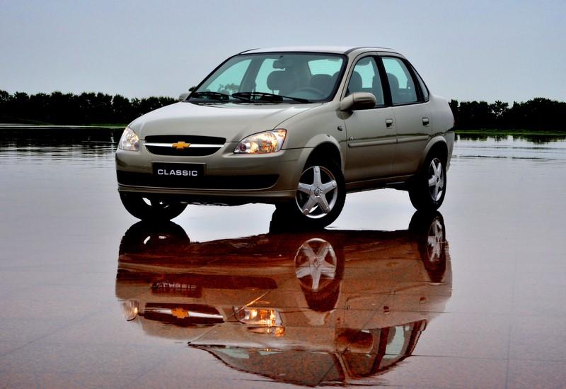 72- Chevrolet Corsa Classic (testado em agosto de 2011 - sem airbags): uma estrela para adultos e uma estrela para crianças - Foto: Divulgação - Foto: Divulgação/Garagem 360/ND