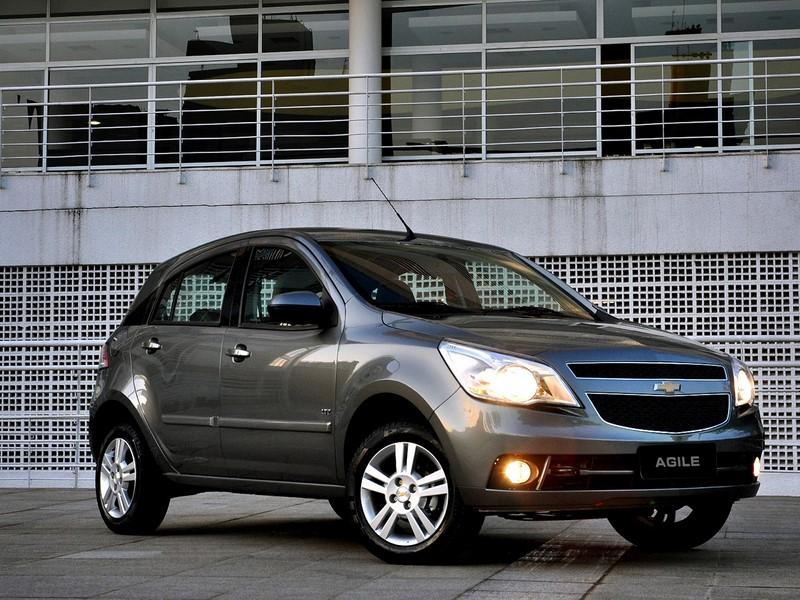 75- Chevrolet Agile (testado em julho de 2013 - sem airbags): zero estrelas para adultos e duas estrelas para crianças - Foto: Divulgação - Foto: Divulgação/Garagem 360/ND