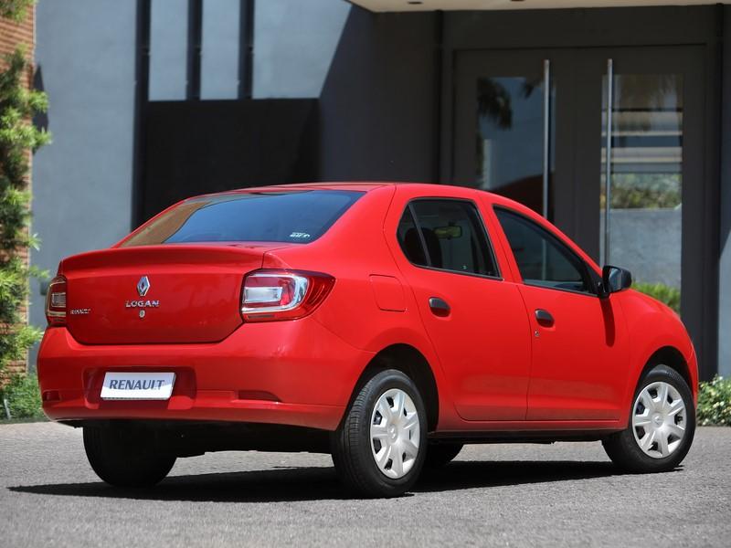 8- Renault Logan 1.0 Authentique: 14 km/l / 14,9 km/l (cidade/estrada - com gasolina) e 9,4 km/l / 10,2 km/l (cidade/estrada - com etanol) - Foto: Divulgação - Foto: Divulgação/Garagem 360/ND