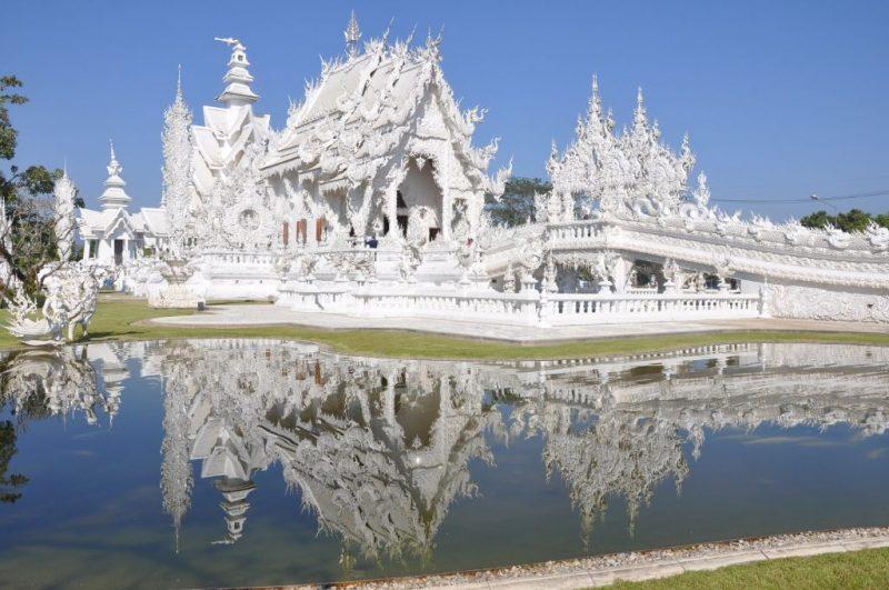 Wat Rong Khun, Tailândia - Pixabay - Pixabay/Rota de Férias/ND