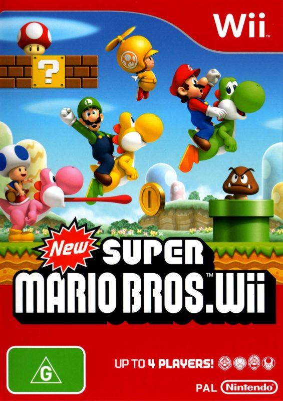 9. New Super Mario Bros. Wii (2009) – 28,5 milhões de cópias - Crédito: Divulgação/33Giga/ND