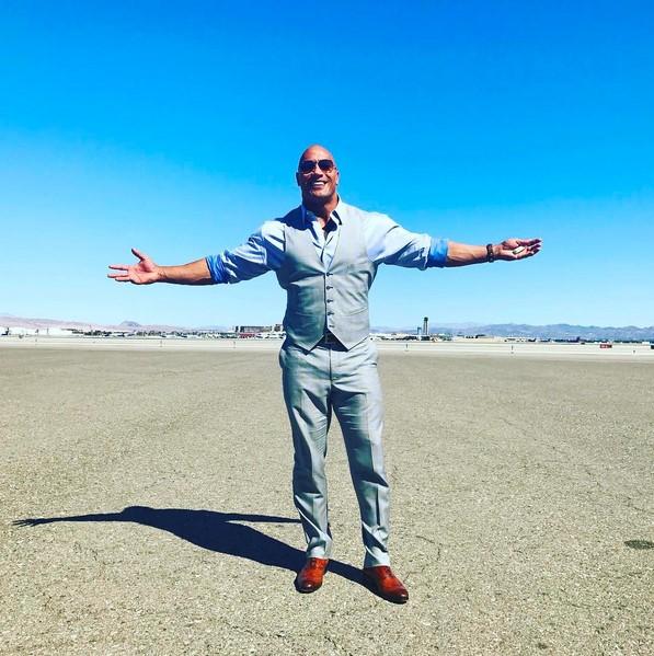 """4. Dwayne """"The Rock"""" Johnson (www.instagram.com/therock) – 129 milhões de seguidores - Crédito: Reprodução Instagram /33Giga/ND"""