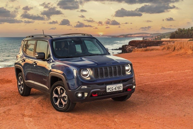 9º- Jeep Renegade: 21.387 unidades - Foto: Divulgação - Foto: Divulgação/Garagem 360/ND