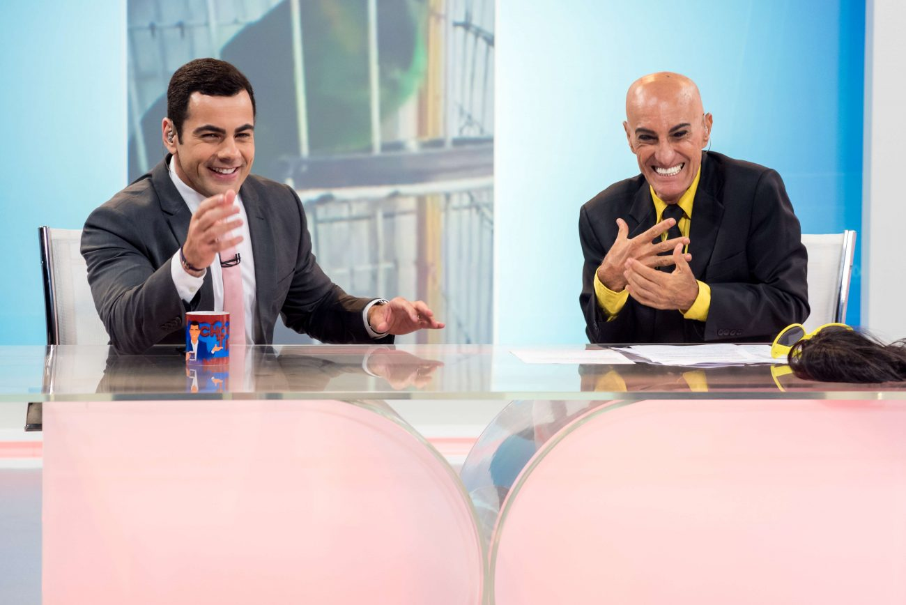 AMIN KHADER E TINO JUNIOR - Record TV