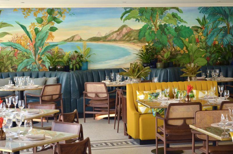 Restaurante Pérgula, no Belmond Copacabana Palace - Divulgação - Divulgação/Rota de Férias/ND
