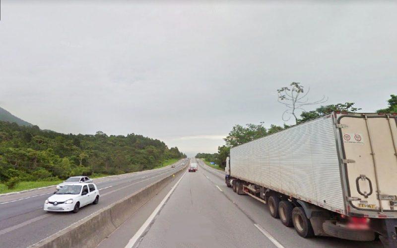 BR-101 foi a rodovia que registrou o maior número de mortes – Foto: Google Street View/Reprodução/ND