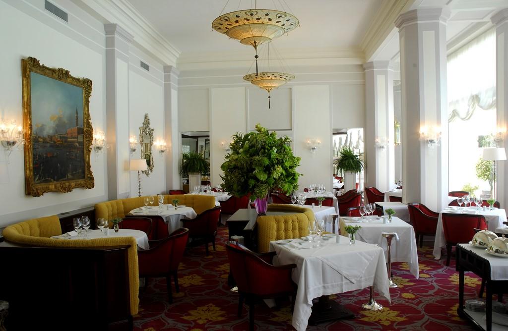 Restaurante Cipriani, no Belmond Copacana Palace - Divulgação - Divulgação/Rota de Férias/ND