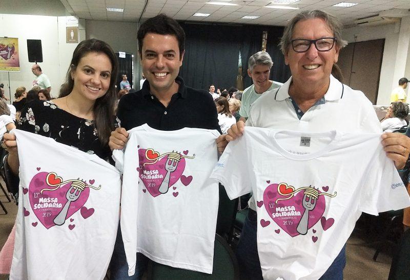 Elisa Barreto, Jean Lisboa (centro) e Cesar Luis Soares Monteiro – Marcos Cardoso/ND