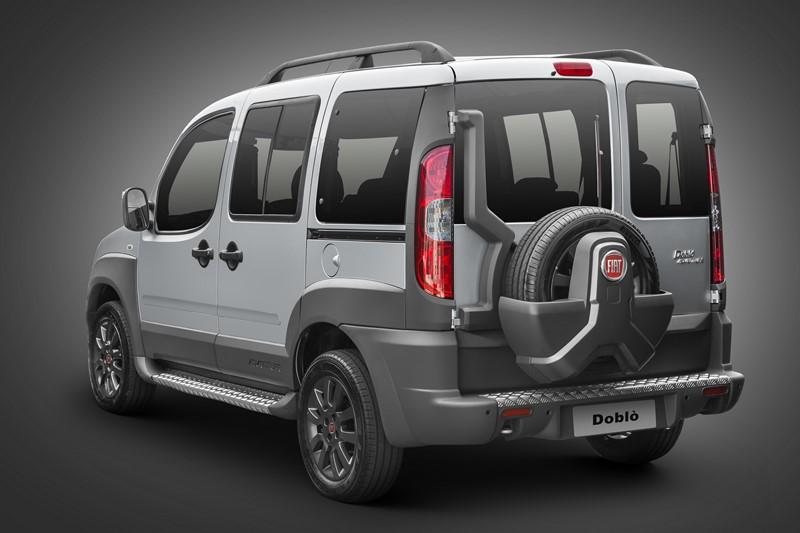 Fiat Doblò: lançado em 2001, pode ter sua produção encerrada neste ano, mas segue aparecendo no site da empresa - Foto: Divulgação - Foto: Divulgação/Garagem 360/ND