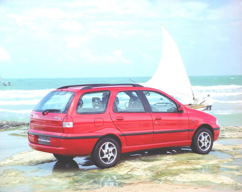 Fiat Palio Weekend (1997) - Foto: Divulgação - Foto: Divulgação/Garagem 360/ND