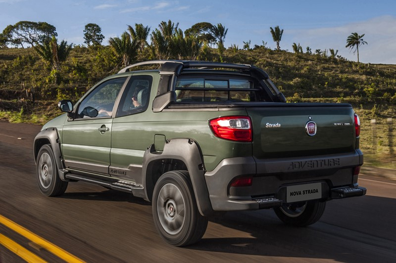 Fiat Strada: a picape é mais uma veterana, estando há 20 anos no mercado - Foto: Divulgação - Foto: Divulgação/Garagem 360/ND