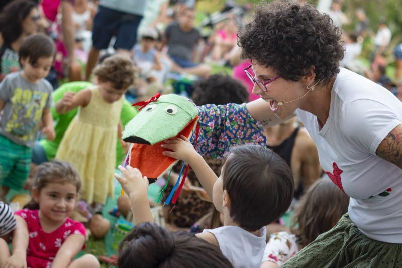 Hoje é dia de Jazz Bebê conta com atividades voltadas ao público infantil – Volo Filmes/Divulgação/ND