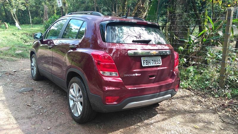 Chevrolet Tracker LTZ. Confira o texto completo em https://goo.gl/ywckW3 - Foto: Leo Alves/Garagem360 - Foto: Leo Alves/Garagem360/Garagem 360/ND