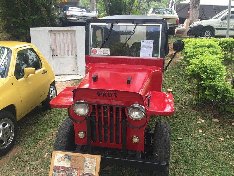 Jeep Willys - Foto: Maria Beatriz Vaccari/Garagem 360 - Foto: Maria Beatriz Vaccari/Garagem 360/Garagem 360/ND