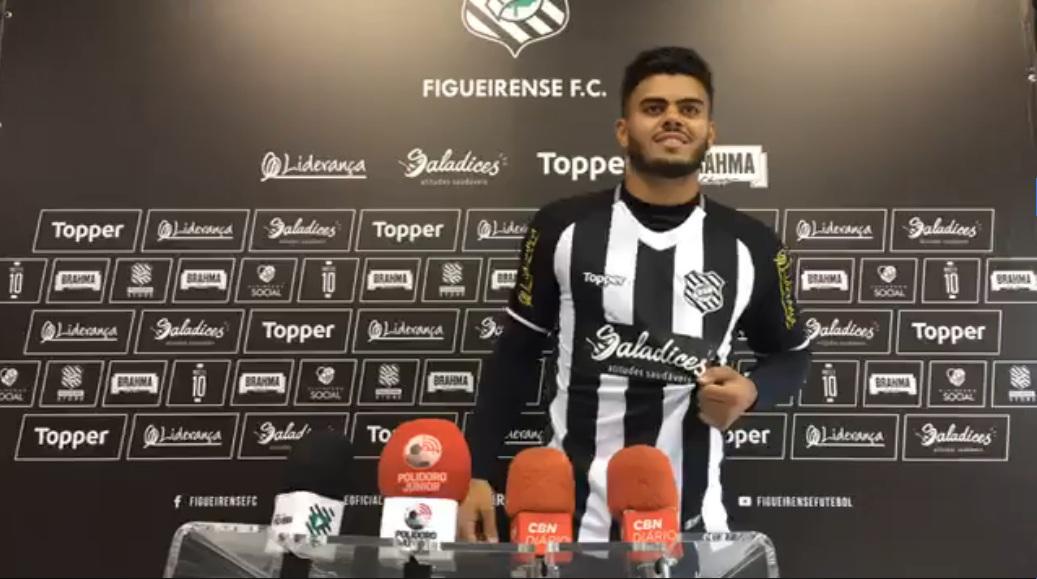João Paulo fica no Figueirense até o fim de 2019 - Divulgação/ND