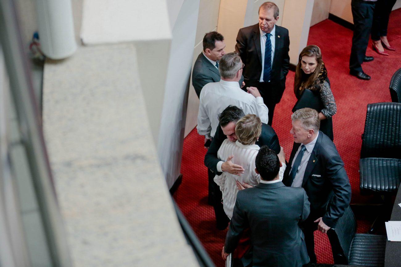 Reunião conjunta das comissões sobre a reforma administrativa de SC - Luca Gebara/Agência AL/ND