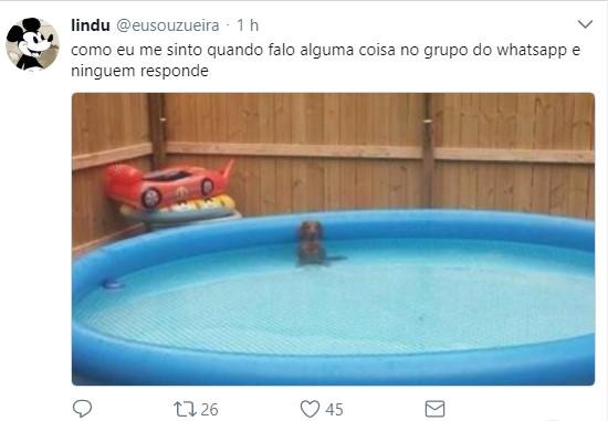 A seguir, confira memes e imagens engraçadas para usar no WhatsApp! - Foto: Divulgação/33Giga/ND
