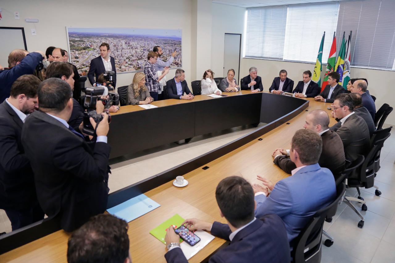 Reunião em Criciúma - Daniel Conzi/Agência AL/ND