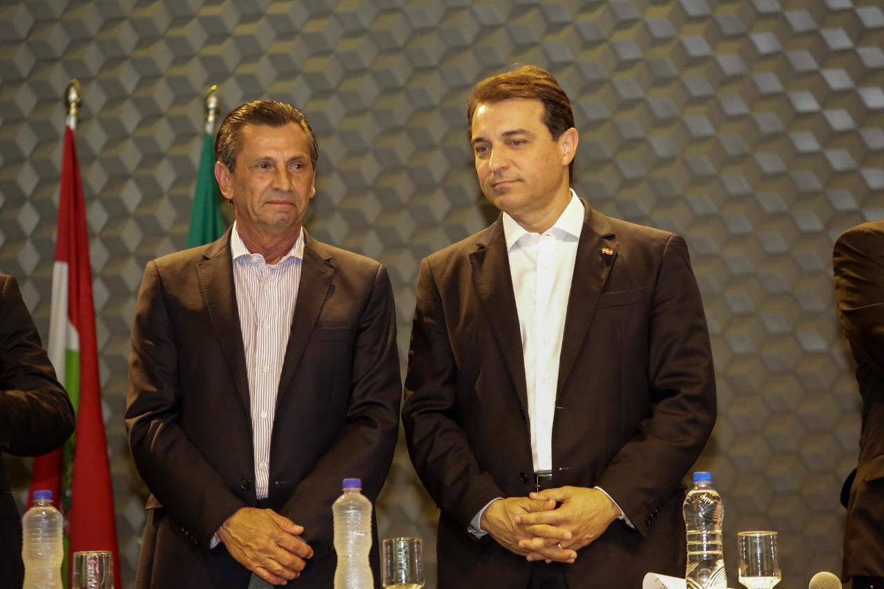 Julio Garcia e Carlos Moisés - Daniel Conzi/Agência AL/ND