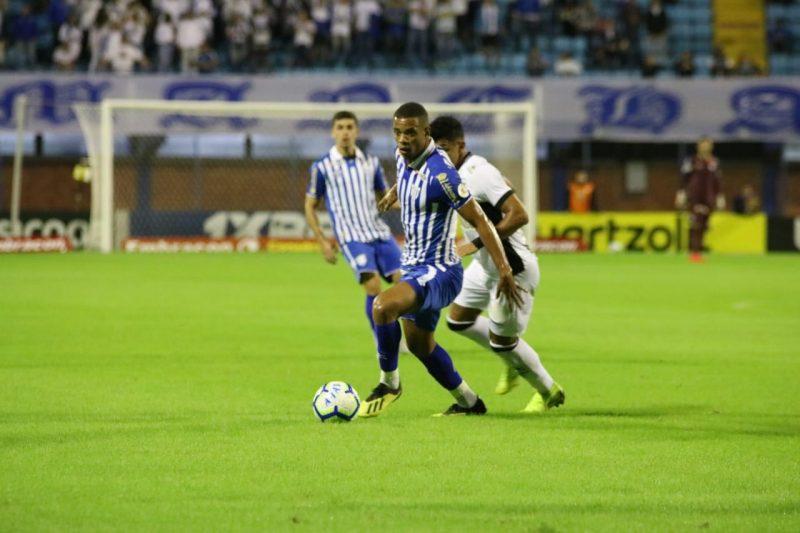 Time do Avaí foi engolido pelo Ceará no segundo tempo. – Frederico Tadeu/Avaí FC