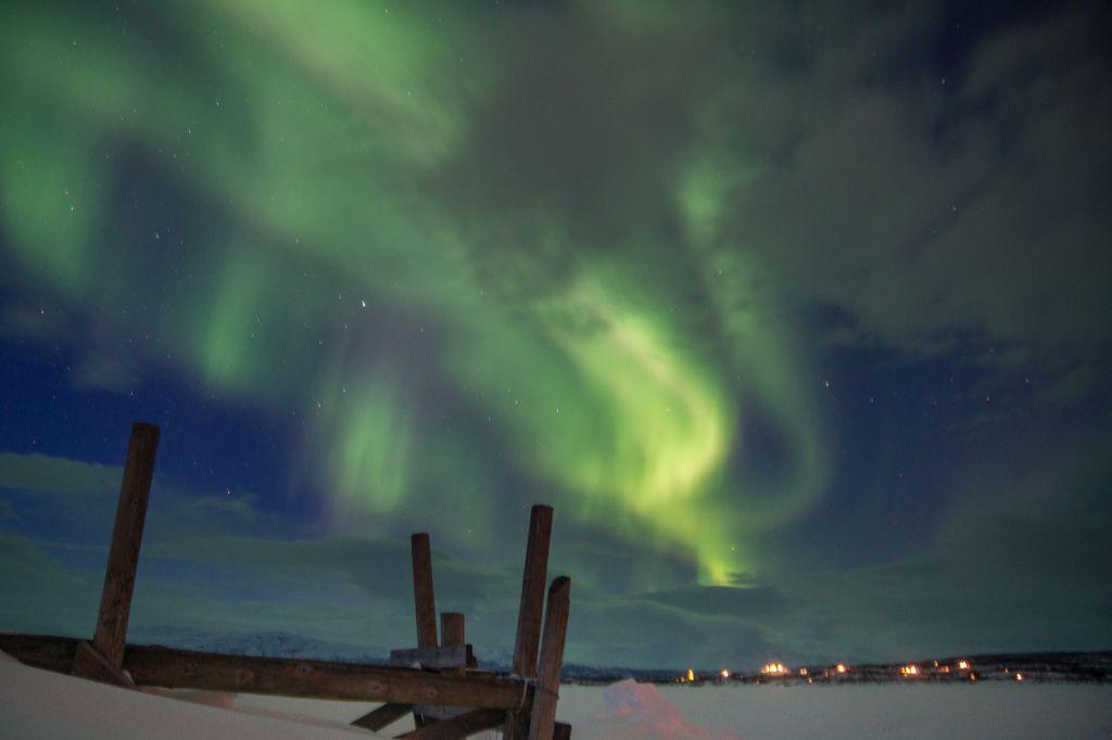 A cidade sueca de Abisko é mais um bom destino para quem deseja ver a aurora boreal - Jan Slangen on VisualHunt / CC BY-NC-SA - Jan Slangen on VisualHunt / CC BY-NC-SA/Rota de Férias/ND
