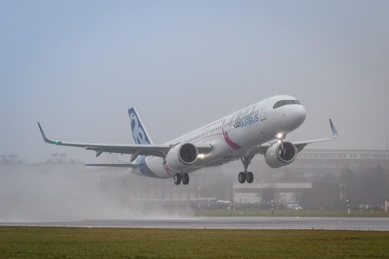 Airbus A321neo: mais um membro da família A320neo, também passou por melhorias nessa nova geração - Foto: Divulgação - Foto: Divulgação /Garagem 360/ND