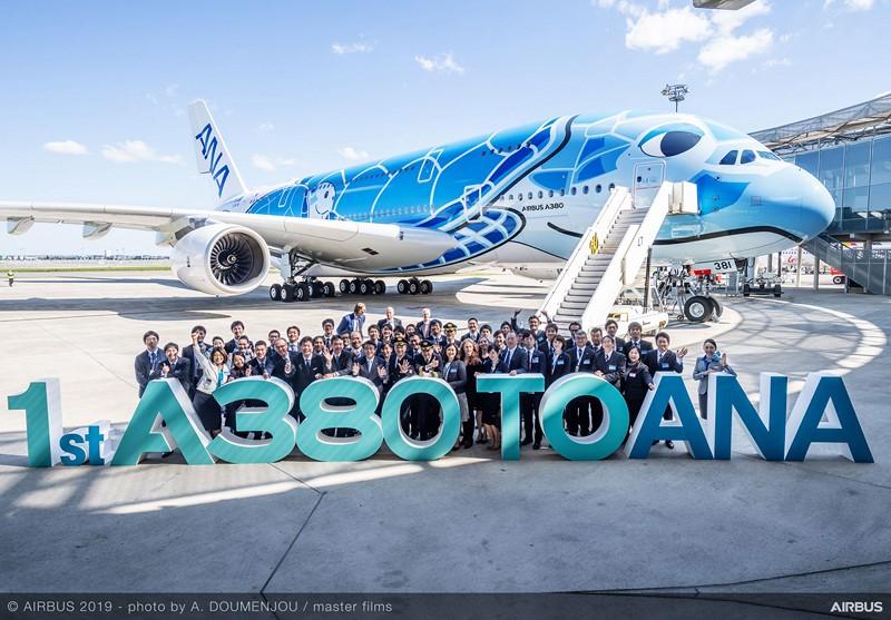 A ANA, empresa japonesa, transformou seu primeiro Airbus A380 em uma tartaruga - Foto: Divulgação - Foto: Divulgação/Garagem 360/ND