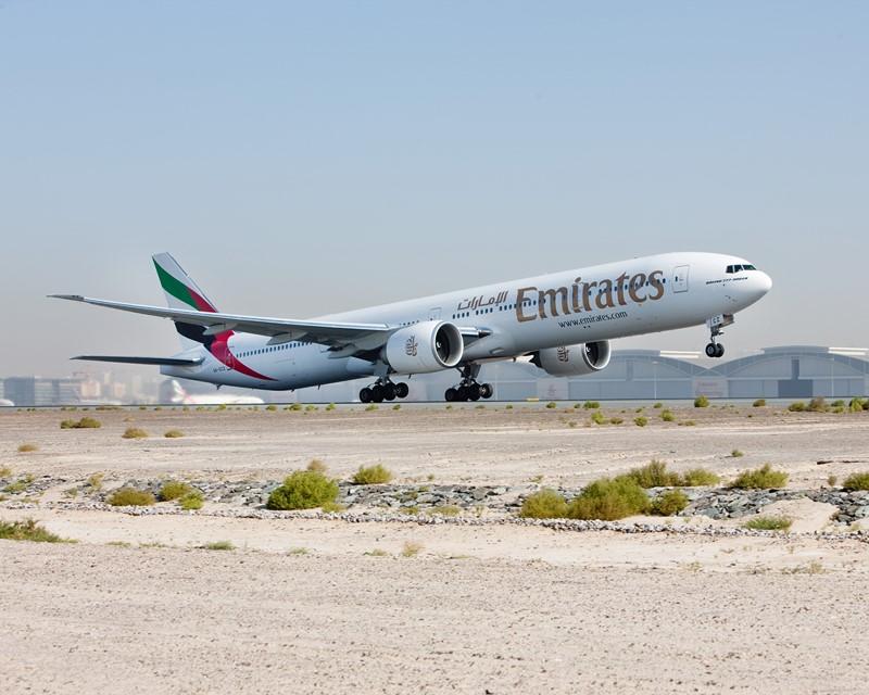 Boeing 777-ER300: mais eficiente que o 777 convencional, esse modelo tem aerodinâmica mais refinada, utiliza ligas de alumínio e fibra de carbono em sua construção, além de ser mais silencioso - Foto: Divulgação - Foto: Divulgação/Garagem 360/ND